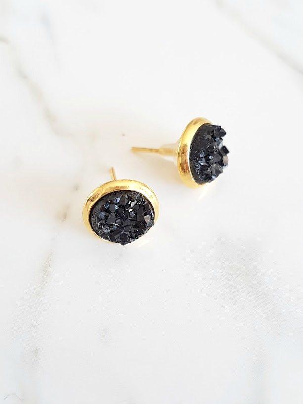 How to Make Druzy Earrings