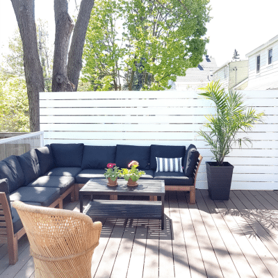 How to Build a Privacy Screen for Your Deck