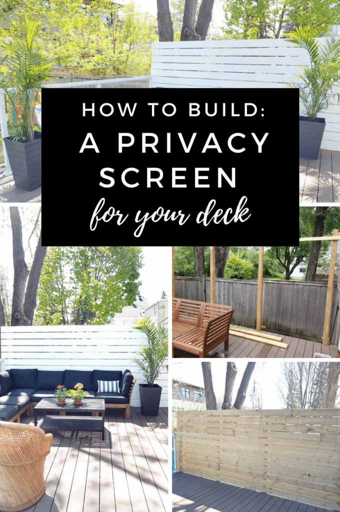 Build a Privacy Screen