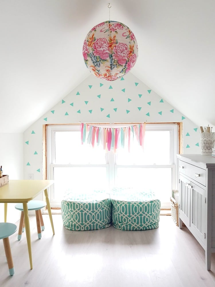 How To Create A Cute Kids Craft Room The Sweetest Digs