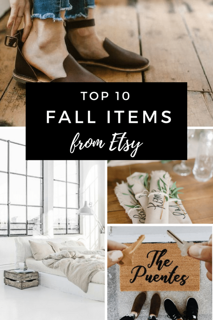 The best Fall decor items from Etsy. Grab these trendy autumn and thanksgiving finds for your home and wardrobe!