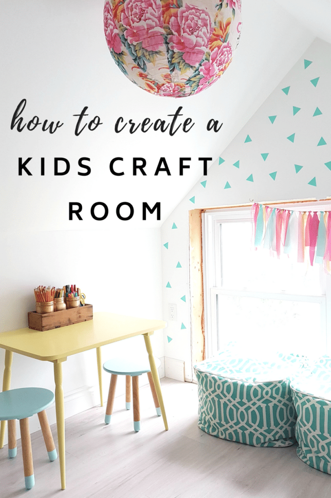 10x10 Room Layout Craft: How To Create A Cute Kids Craft Room