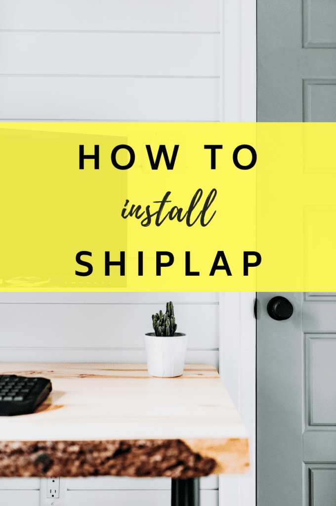 How To Install Shiplap Howwiki Pro